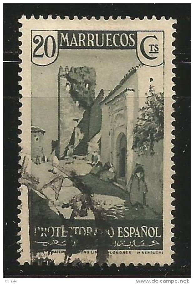 Marruecos – España – Spain – Años 1933-1935 Edifil 138 Us. - Spanisch-Marokko