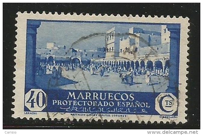 Marruecos – España – Spain – Años 1933-1935 Edifil 141 Us. - Spanisch-Marokko