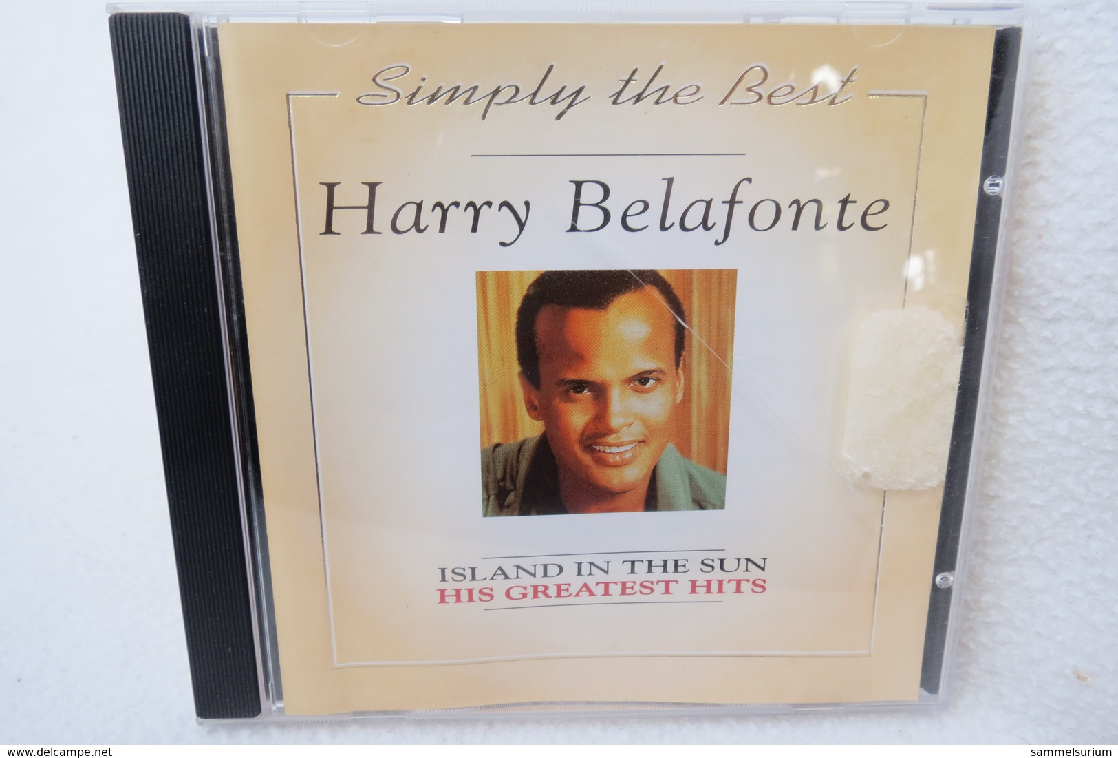 """CD """"Harry Belafonte"""" Simply The Best, Island In The Sun, His Greatest Hits - Hit-Compilations"""