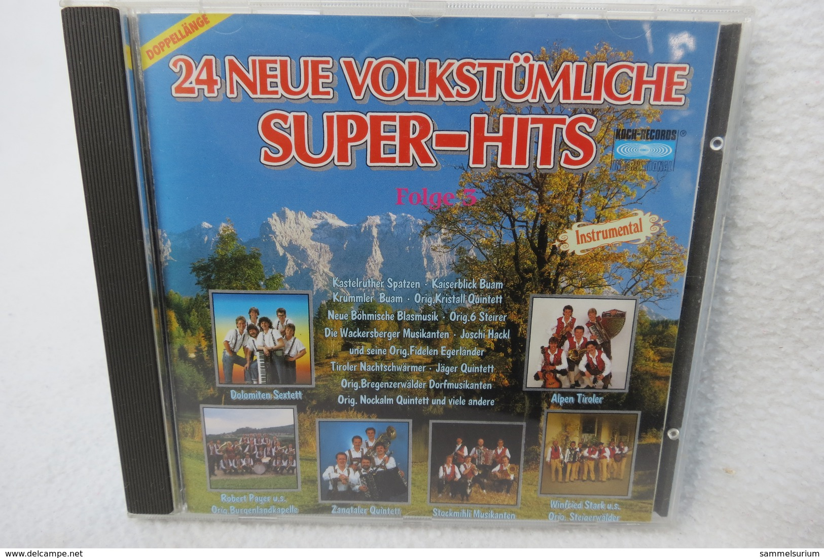 """CD """"24 Neue Volkstümliche Super-Hits"""" Folge 3 (Doppellänge) - Instrumental"""