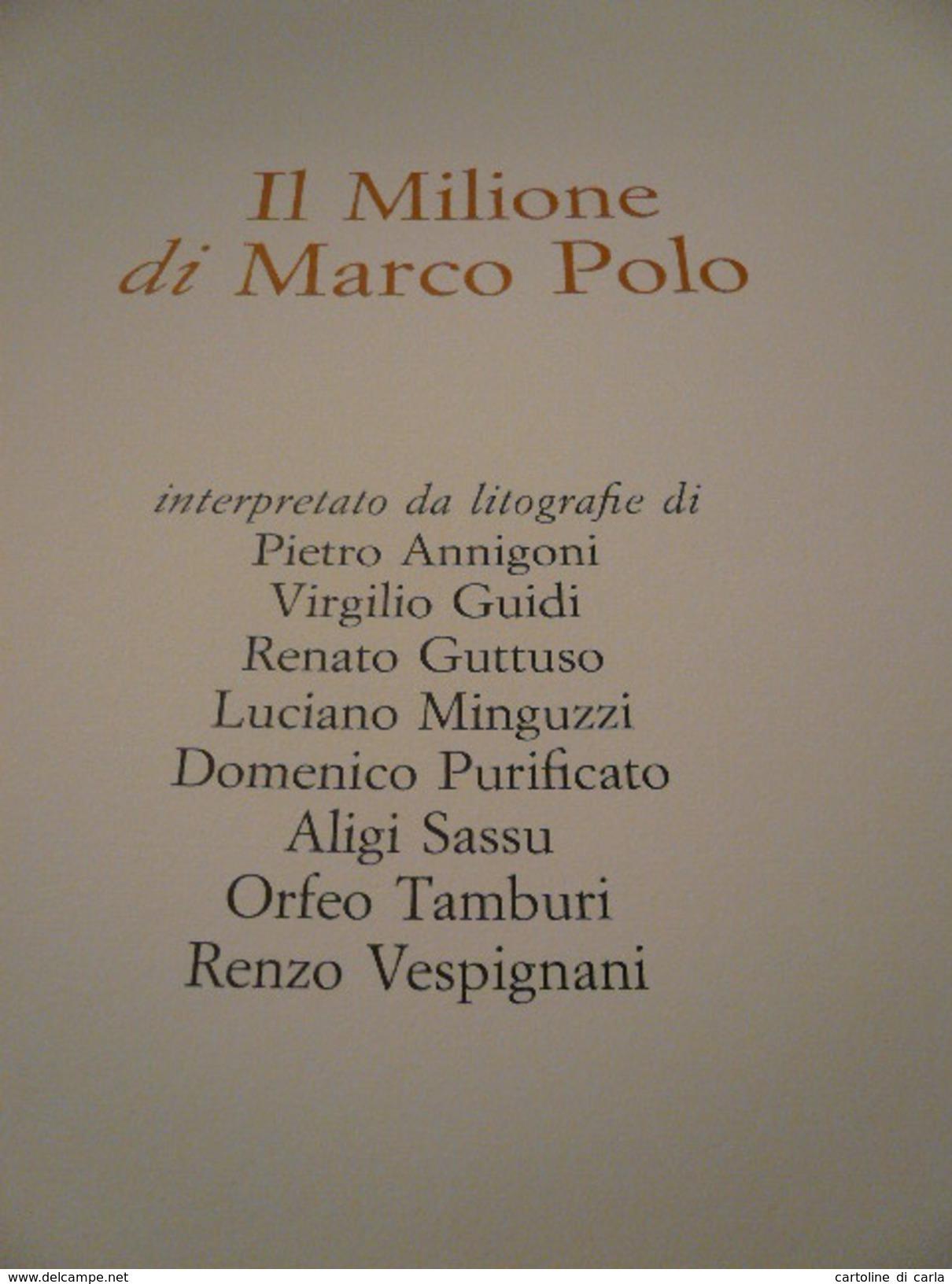 MARCO POLO - IL MILIONE - Libri, Riviste, Fumetti