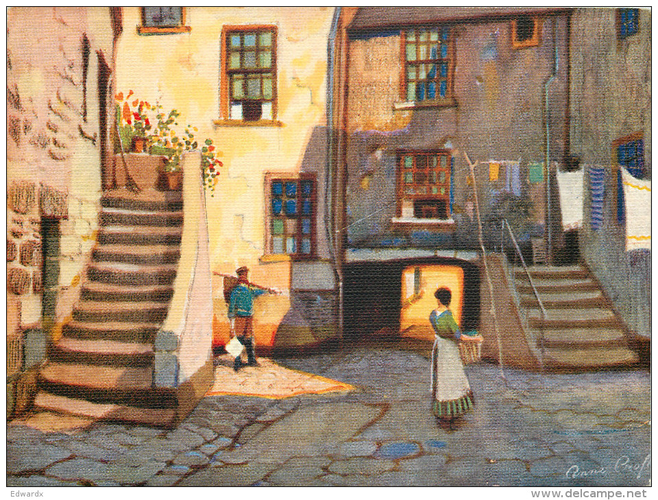 Anne Croft, St Ives, Art Painting Postcard Unposted - Paintings