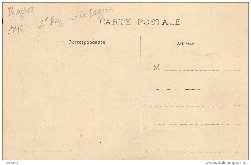 CPA-1906-ALGERIE FORT NATIONAL 2é Reg De La LEGION-Devant MONUMENT ICHERIDEN-TBE - Régiments