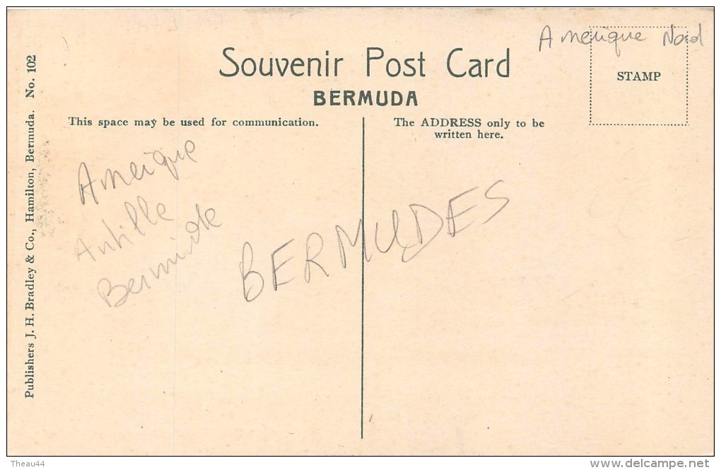 ¤¤  -  BERMUDES   -  BERMUDA  -  Seaward, Baileys Bay   -  ¤¤ - Bermudes
