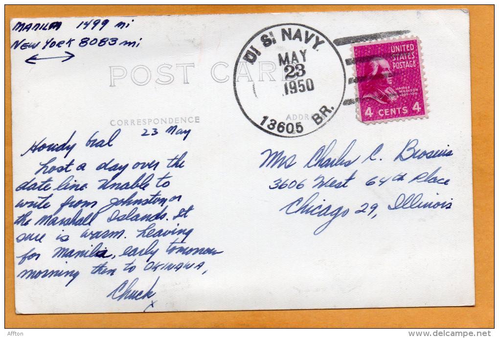 Agana Guam 1950 Real Photo Mailed - Guam