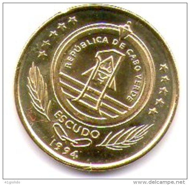 Capo Verde Cabo Verde 1 Escudo 1994 - Cap Vert