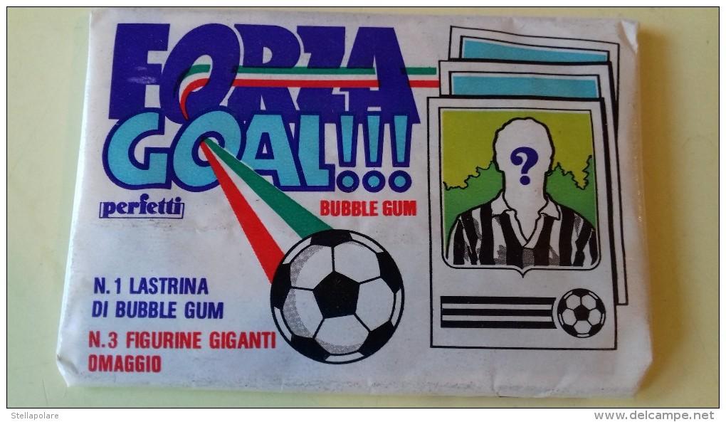 FORZA GOAL BUBBLE GUM - PERFETTI - CAMPIONATO CALCIO SERIE A - NO PANINI MIRA - Non Classificati