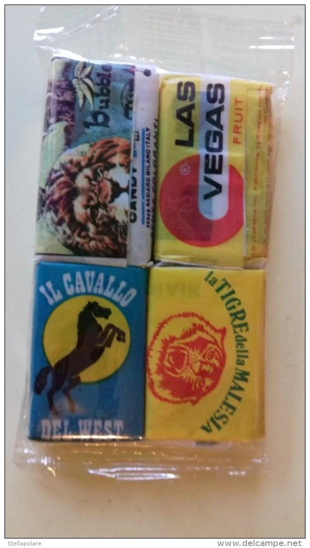 Candygum Tarzan - Pagliarini Furia Cavallo Del West + Sandokan - Tyndaris Las Vegas No Goldrake Candy Mazinga Heidi Winx - Non Classificati