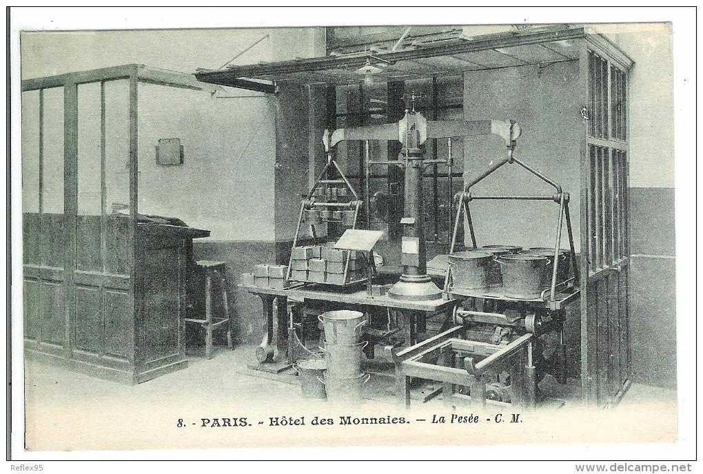 PARIS - Hôtel Des Monnaies - La Pesée - Monnaies (représentations)
