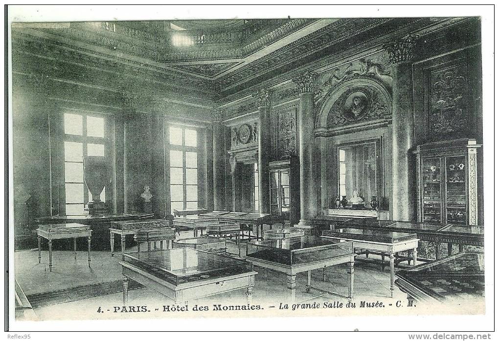 PARIS - Hôtel Des Monnaies - La Grande Salle Du Musée - Monnaies (représentations)