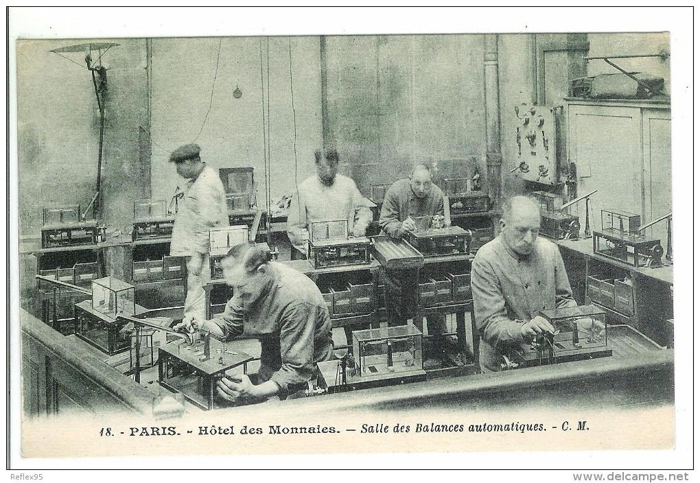 PARIS - Hôtel Des Monnaies - Salle Des Balances Automatiques - Monnaies (représentations)