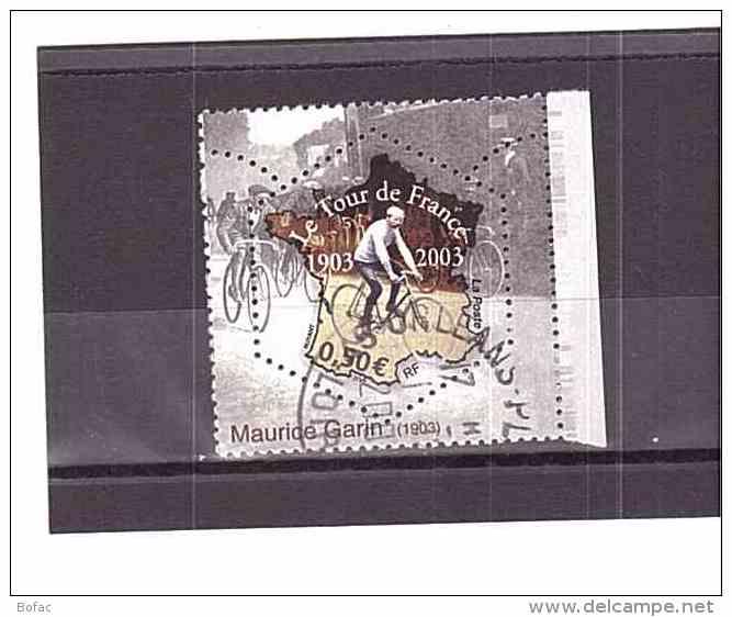 3582   OBL  Y&T   100 Eme Anniversaire Tour De France     *FRANCE 154/51 - Used Stamps