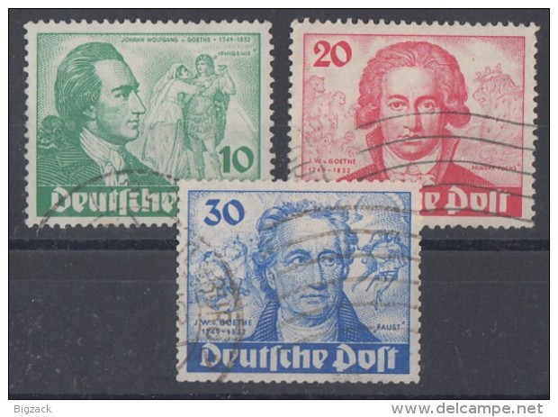 Berlin Minr.61-63 Gestempelt - Gebraucht