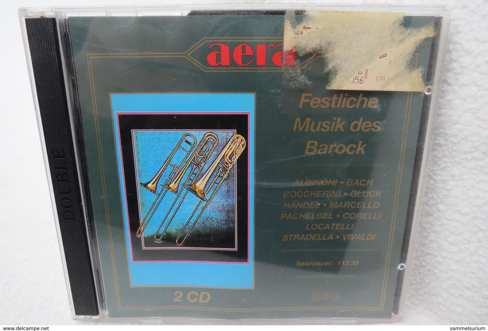 "2 CDs ""Festliche Konzerte Des Barock"" Albioni, Bach U.a. - Sonstige"