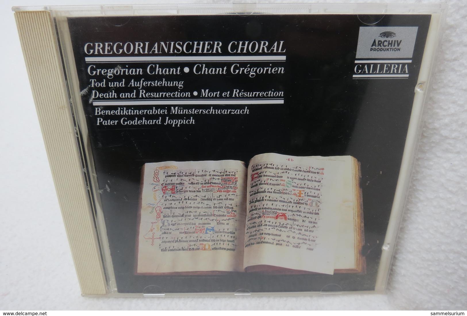"""CD """"Gregorianischer Choral"""" Benediktinerabtei Münsterschwarzach - Religion & Gospel"""