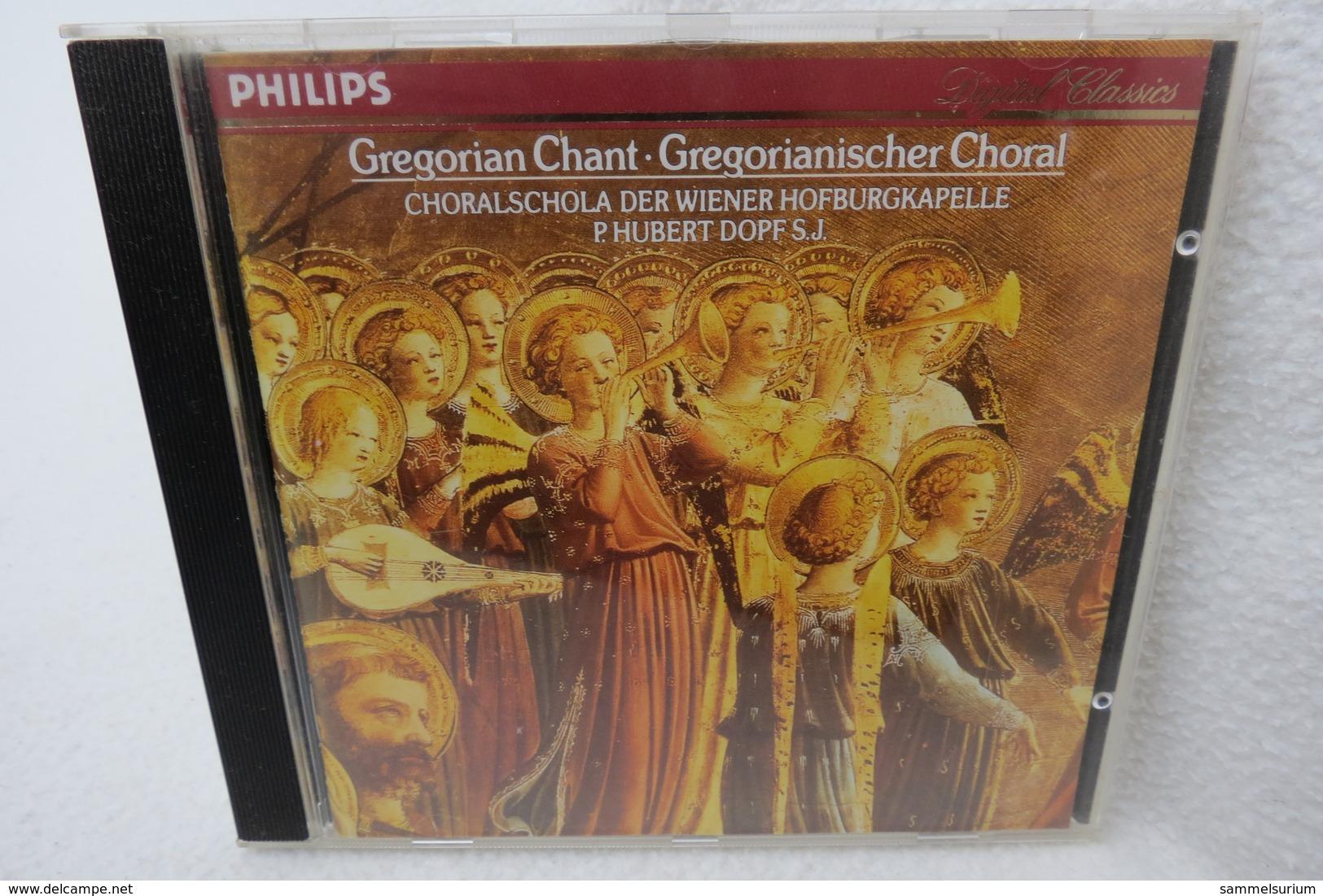 "CD ""Gregorian Chant"" Choralschola Der Wiener Hofburgkapelle P. Hubert Dopf S.J. - Religion & Gospel"