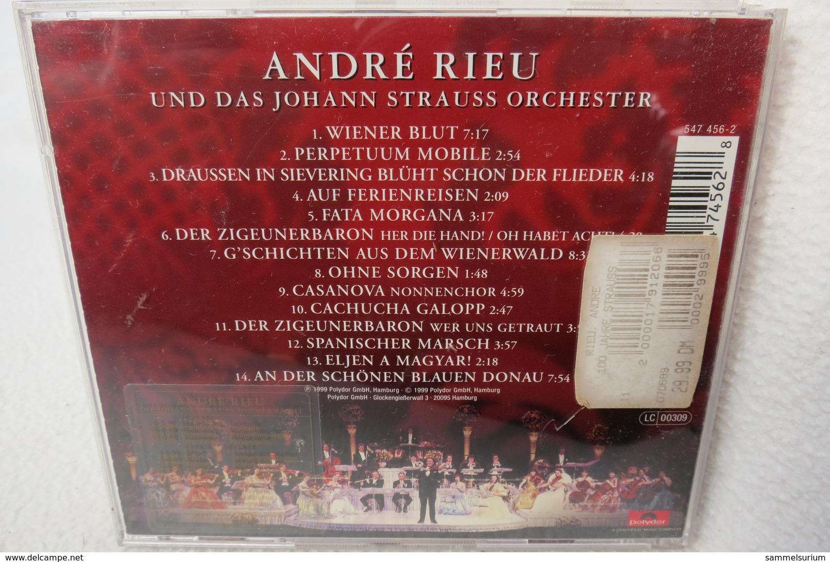 "CD ""André Rieu"" 100 Jahre Strauß - Instrumental"