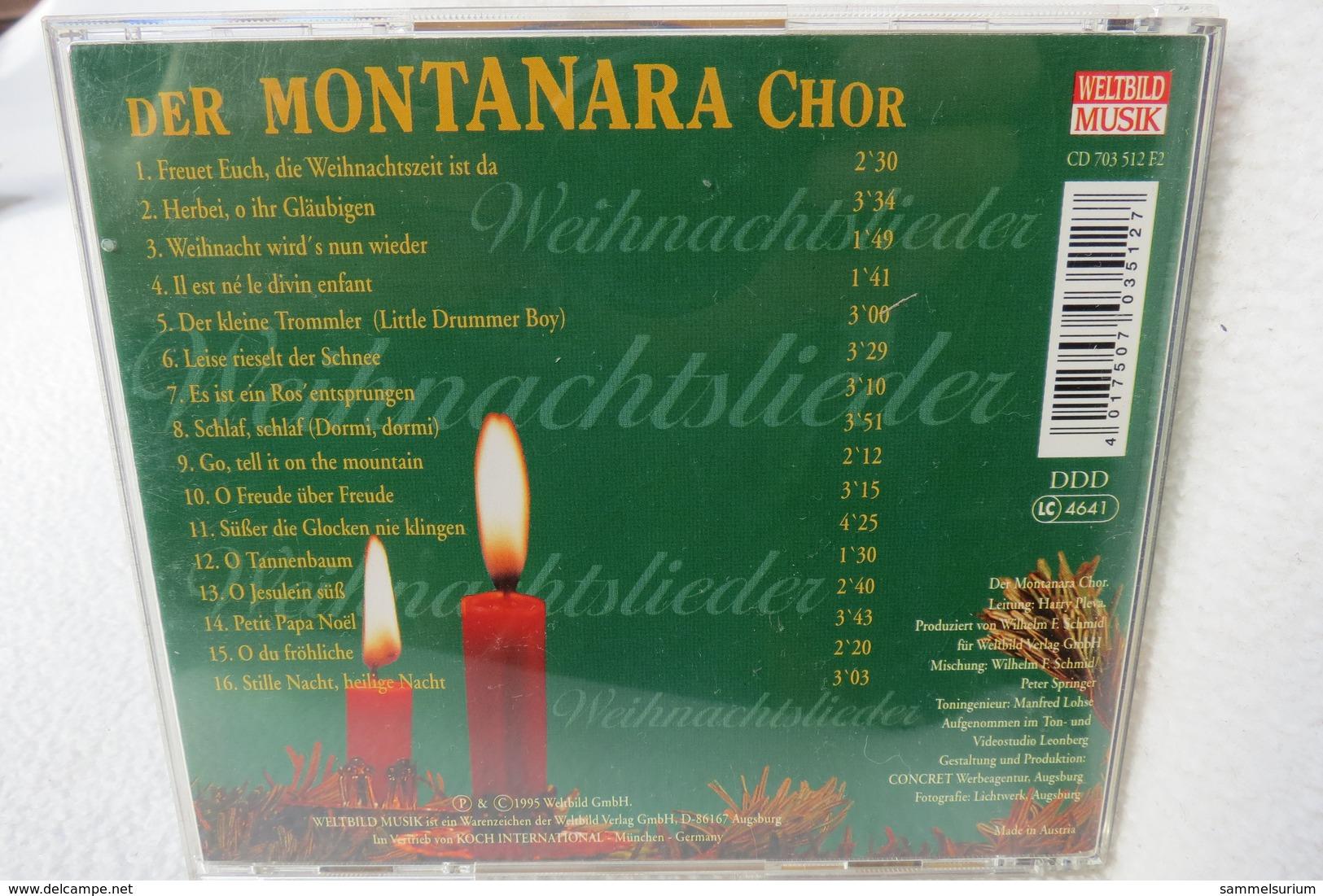 """CD """"Der Montanara Chor"""" Singt Seine Schönsten Weihnachtslieder - Weihnachtslieder"""