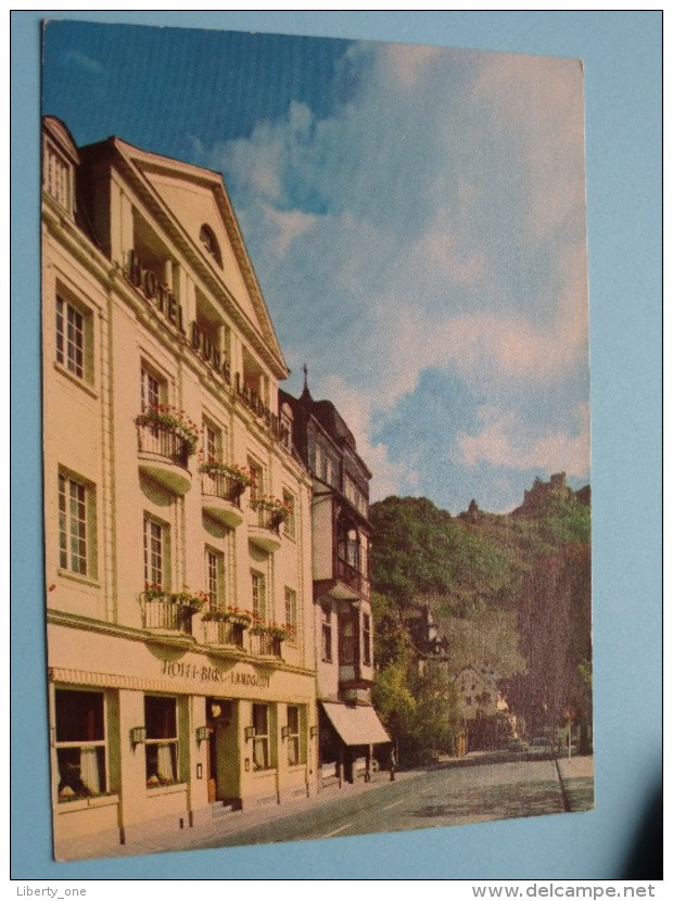 Hotel BURG LANDSHUT Bernkastel ( Mosel ) Besitzer Kurt DAHM () Anno 19?? ( Zie Foto Voor Details ) !! - Hotels & Restaurants