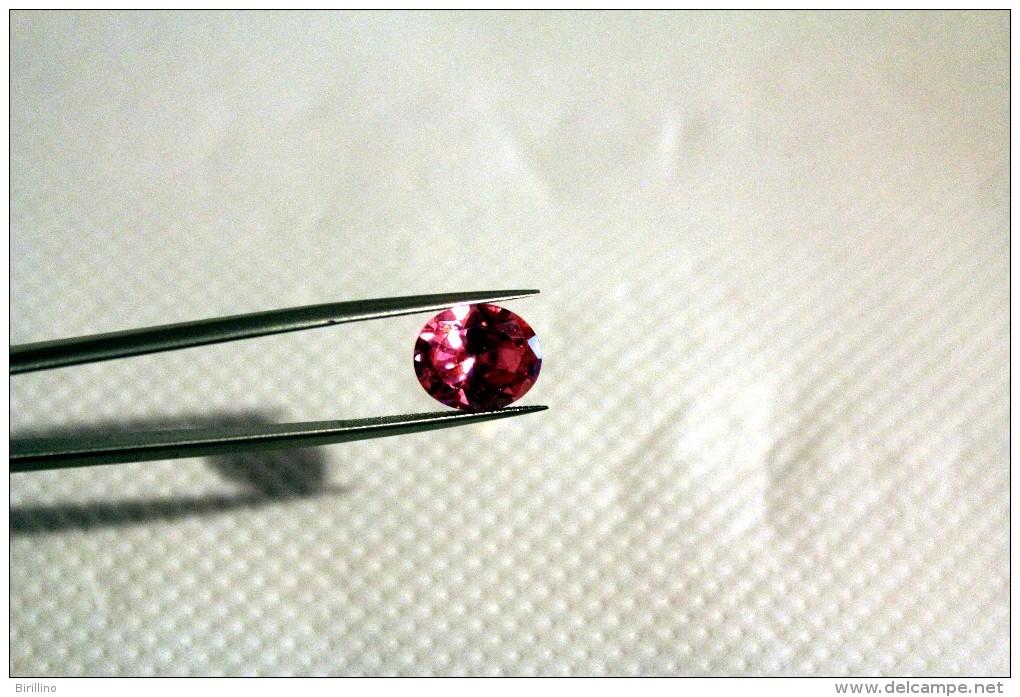 228 - Zirconia Cubica Ovale Rosa - Ct. 8.75 - Zircone