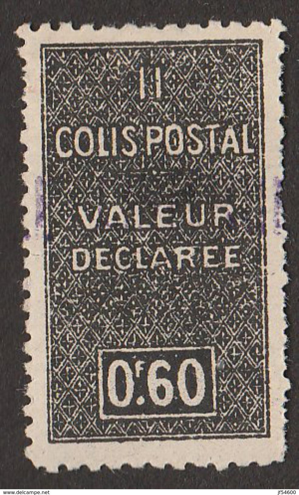 Algérie Colis Postaux No 51 * - Algérie (1924-1962)