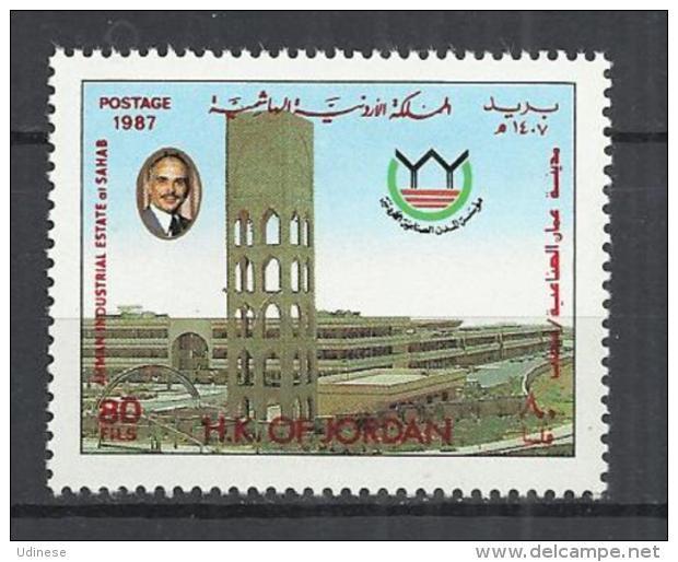 JORDAN 1987 - SAHAB INDUSTRY - MNH MINT NEUF NUEVO - Jordan
