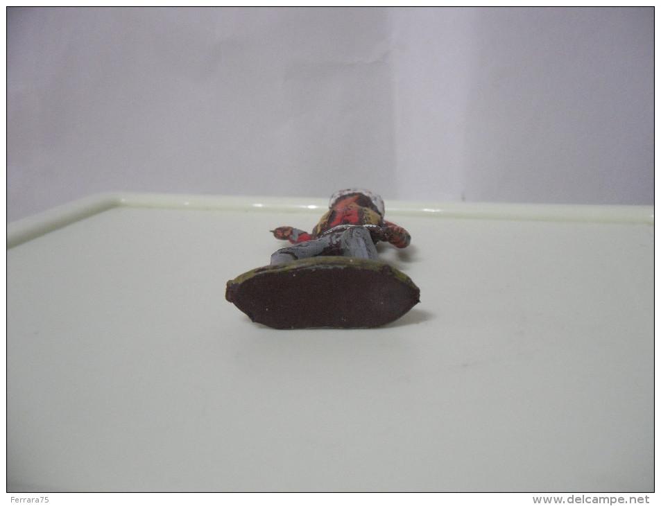 SOLDATINO COWBOY-WESTERN-XILOPLATO-CROMOPLASTO-VINTAGE. - Figurines