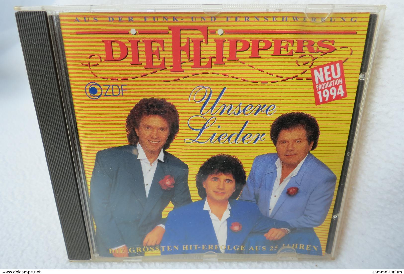 """CD """"Die Flippers"""" Unsere Lieder, Die Größten Hit-Erfolge Aus 25 Jahren - Musik & Instrumente"""