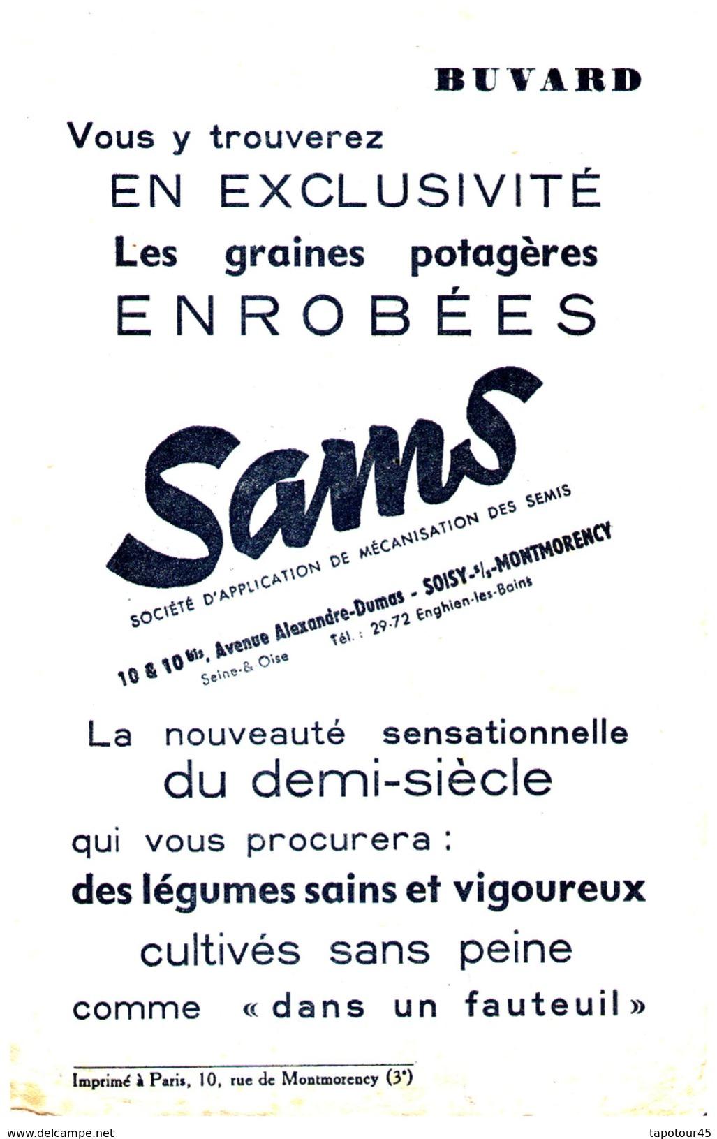 Gr/Buvard   Graines Sams  (N= 1) - Agriculture