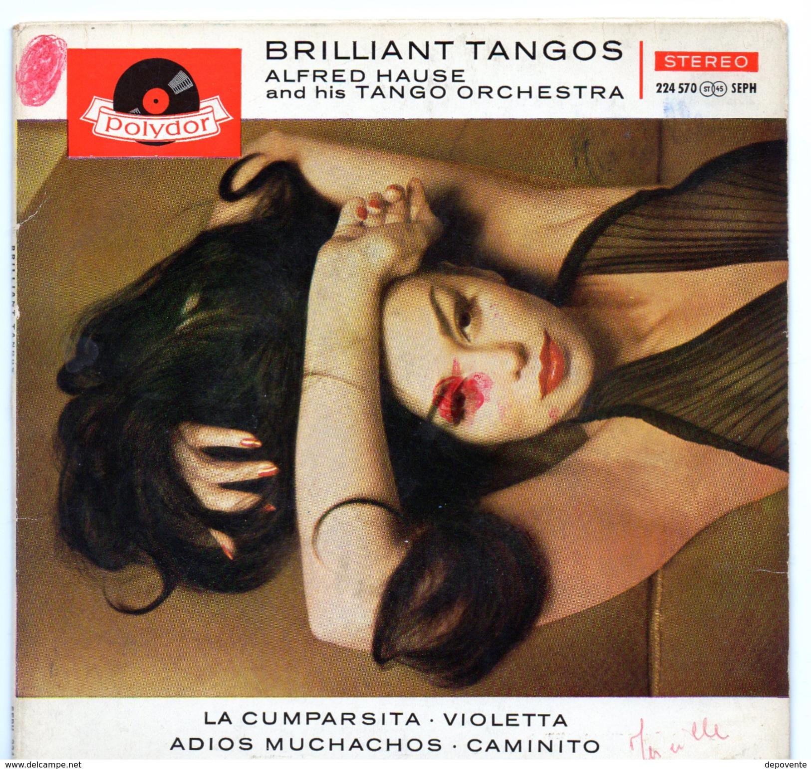 45T : ALFRED HAUSE - BRILLIANT TANGOS - Musicals