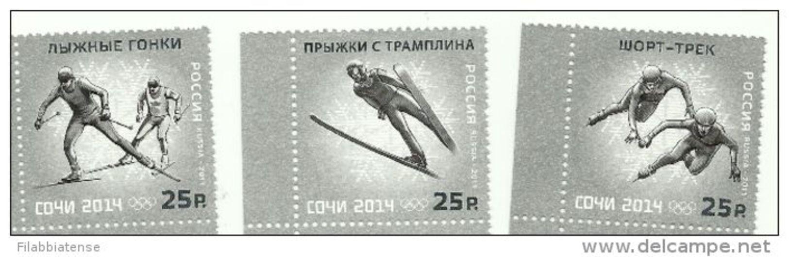 2011 - Russia - Olimpiadi Di Sochi, - Inverno 2014: Sotchi