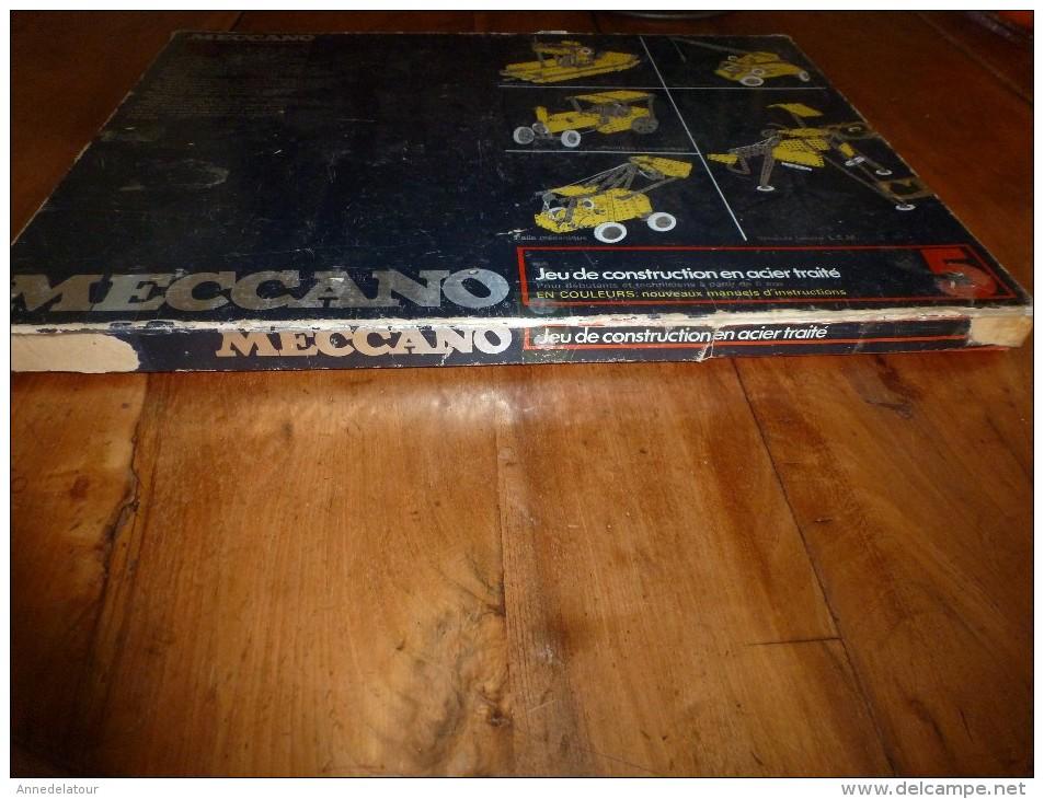Rare MECCANO Dans Sa Boite D'origine  N° 5 En Acier Traité - Meccano