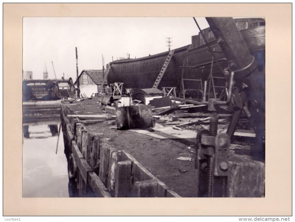 Foto  Photo - Scheepswerf Te Ledeberg - 1955 - Photos