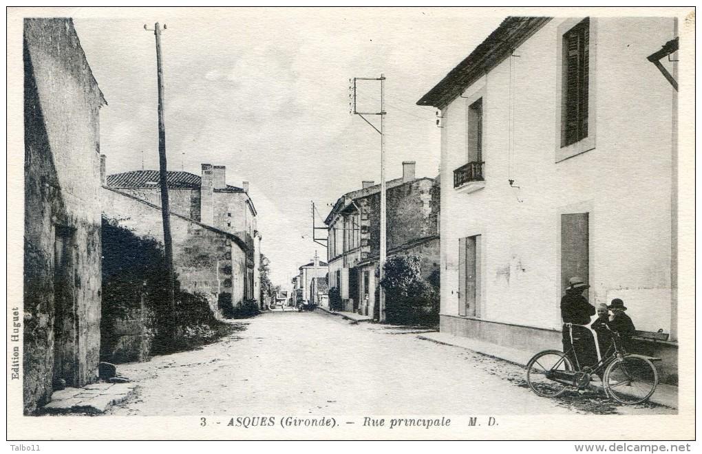 Asques - Rue Principale - France