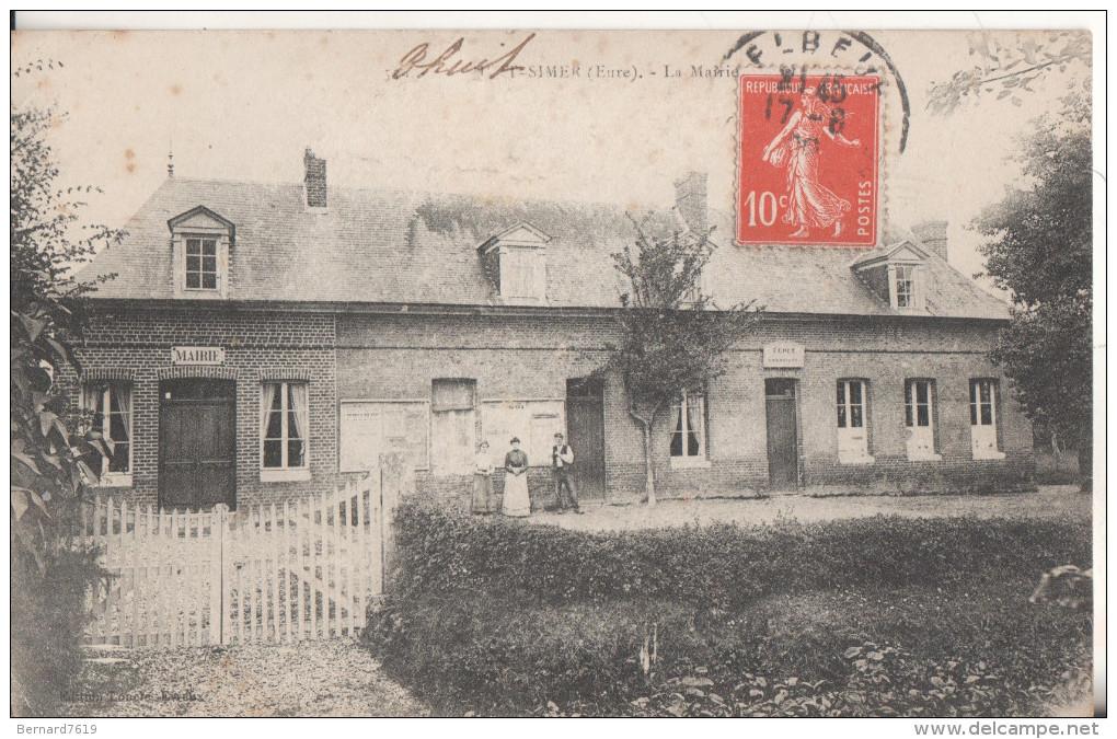 27  Le Thuit-simer La Mairie - Autres Communes