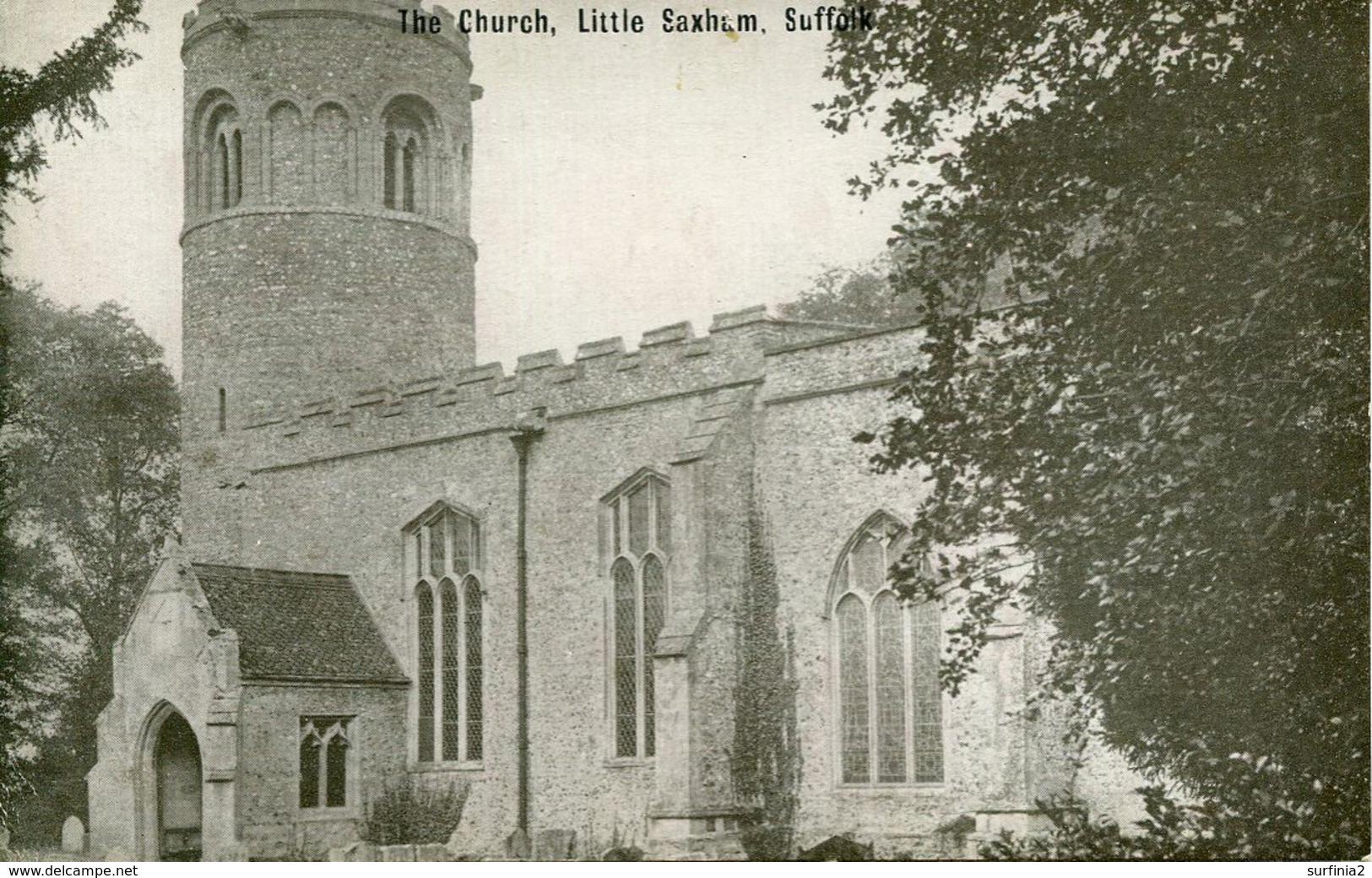 SUFFOLK - LITTLE SAXHAM - THE CHURCH Suf314 - England