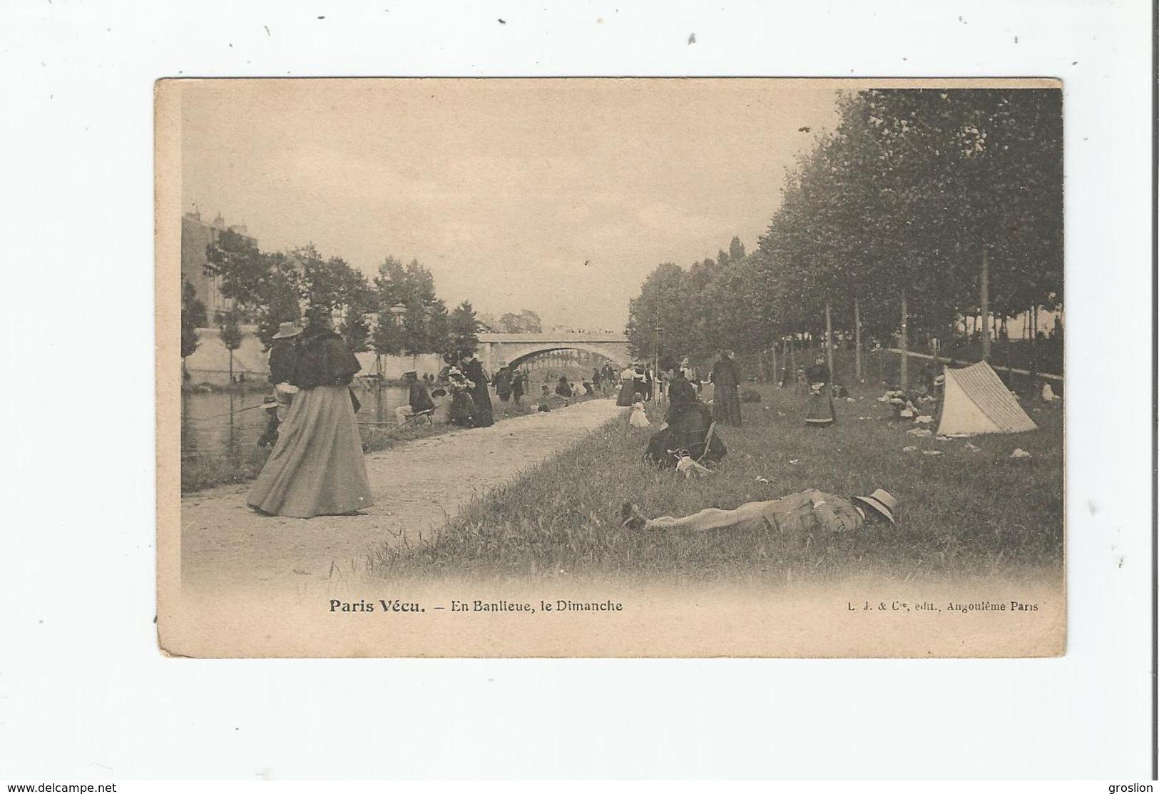 PARIS VECU EN BANLIEUE LE DIMANCHE - Petits Métiers à Paris