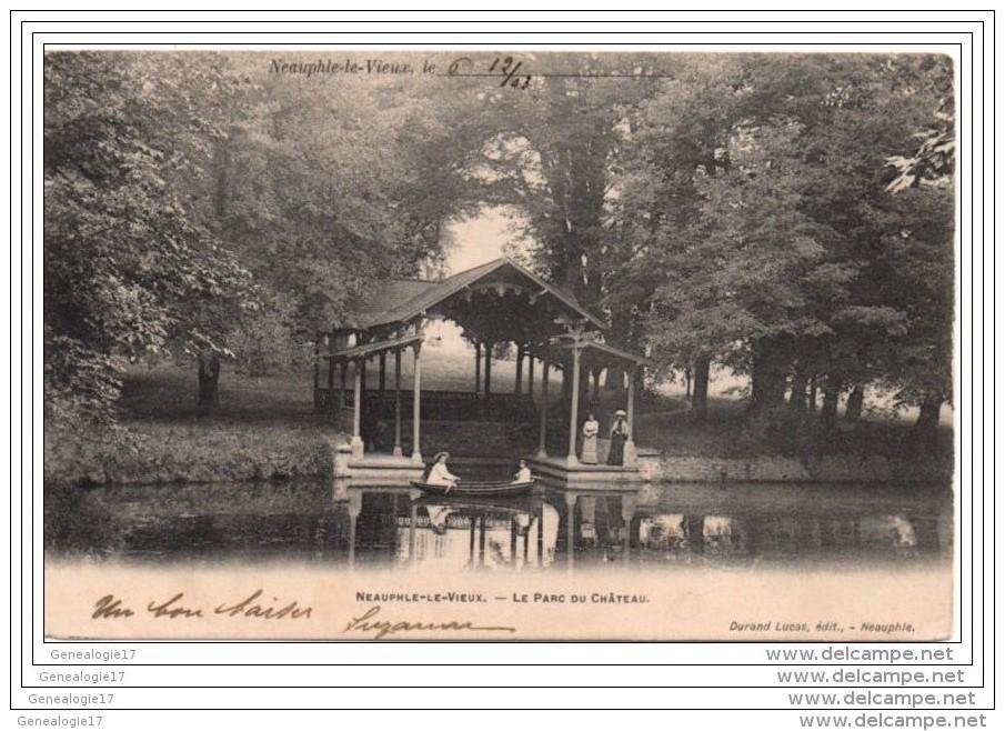 CPA 78 09 NEAUPHLE LE VIEUX Le Parc Du Chateau YVELINES - Neauphle Le Chateau