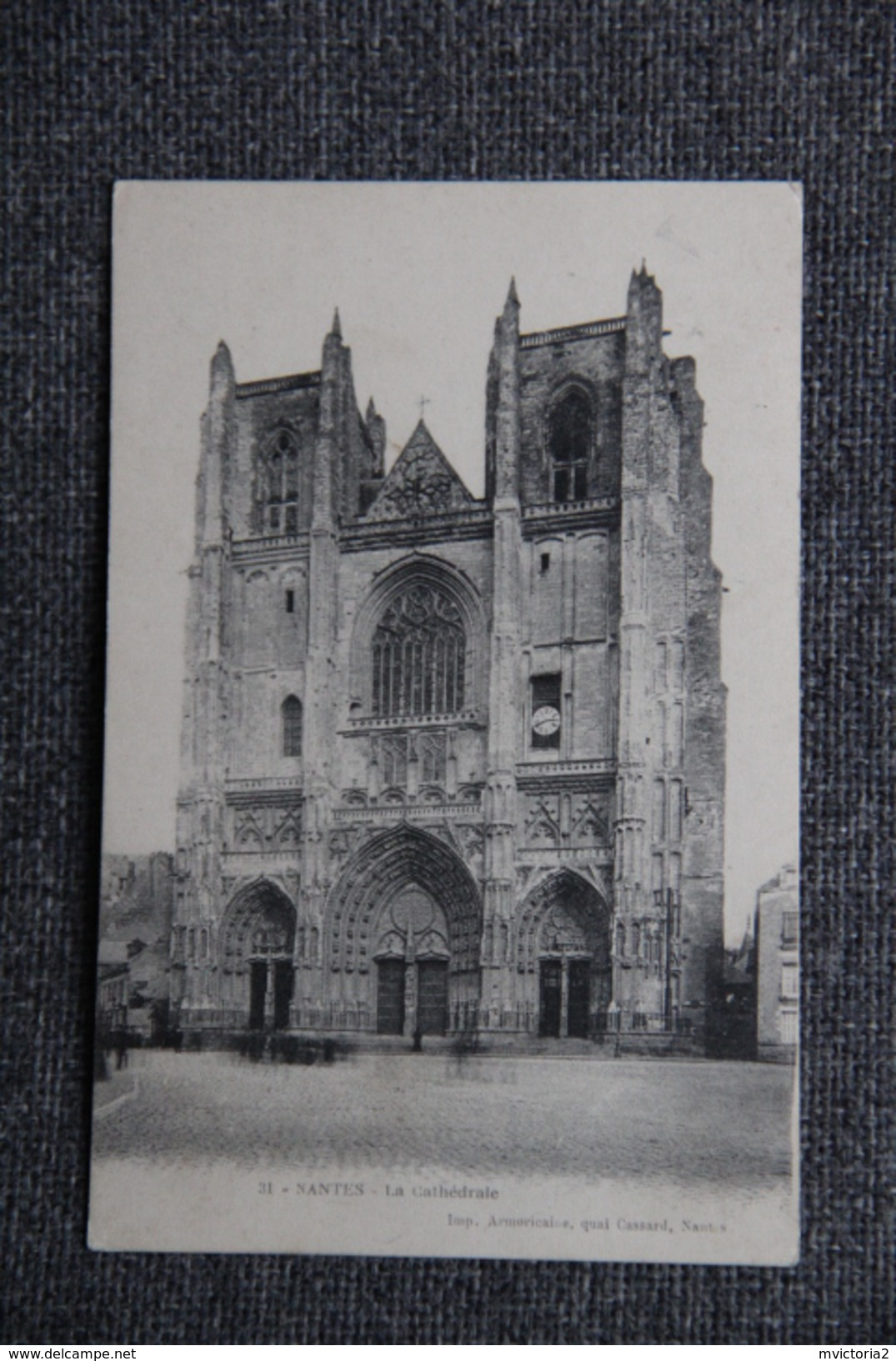 NANTES - La Cathédrale - Nantes