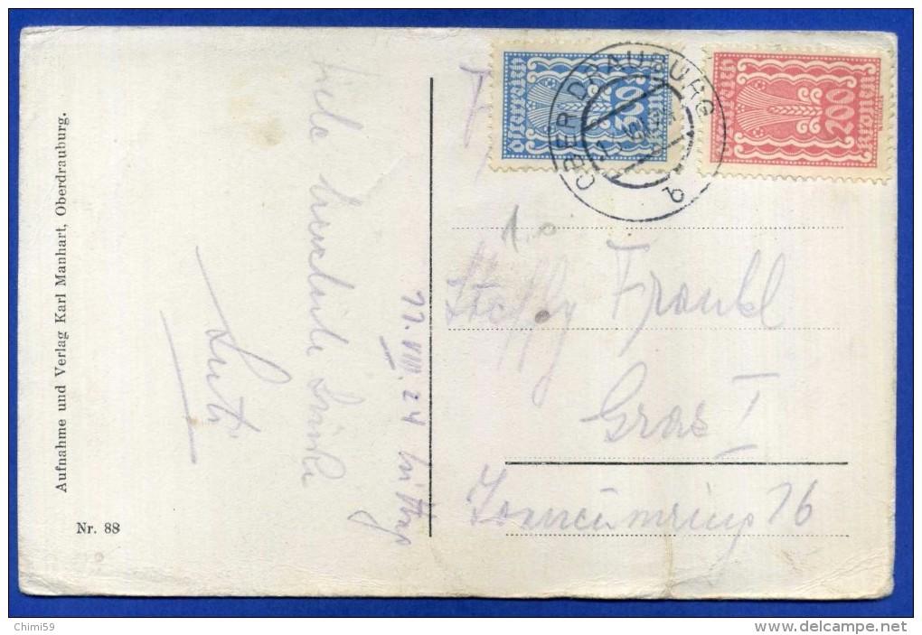 OSTERREICH  AUSTRIA  - OBERDRAUBURG IM KARNTNER OBERLAND 1924 - Non Classificati
