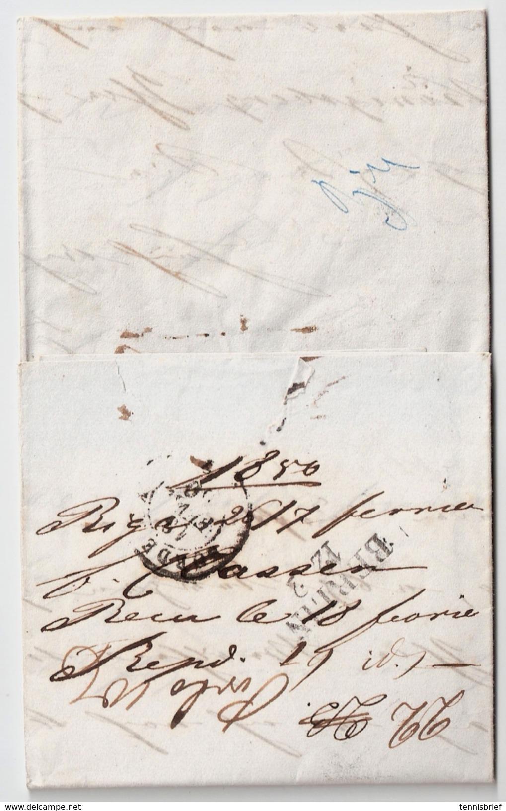 "1850, "" Riga "" ,  #6309 - Lettland"