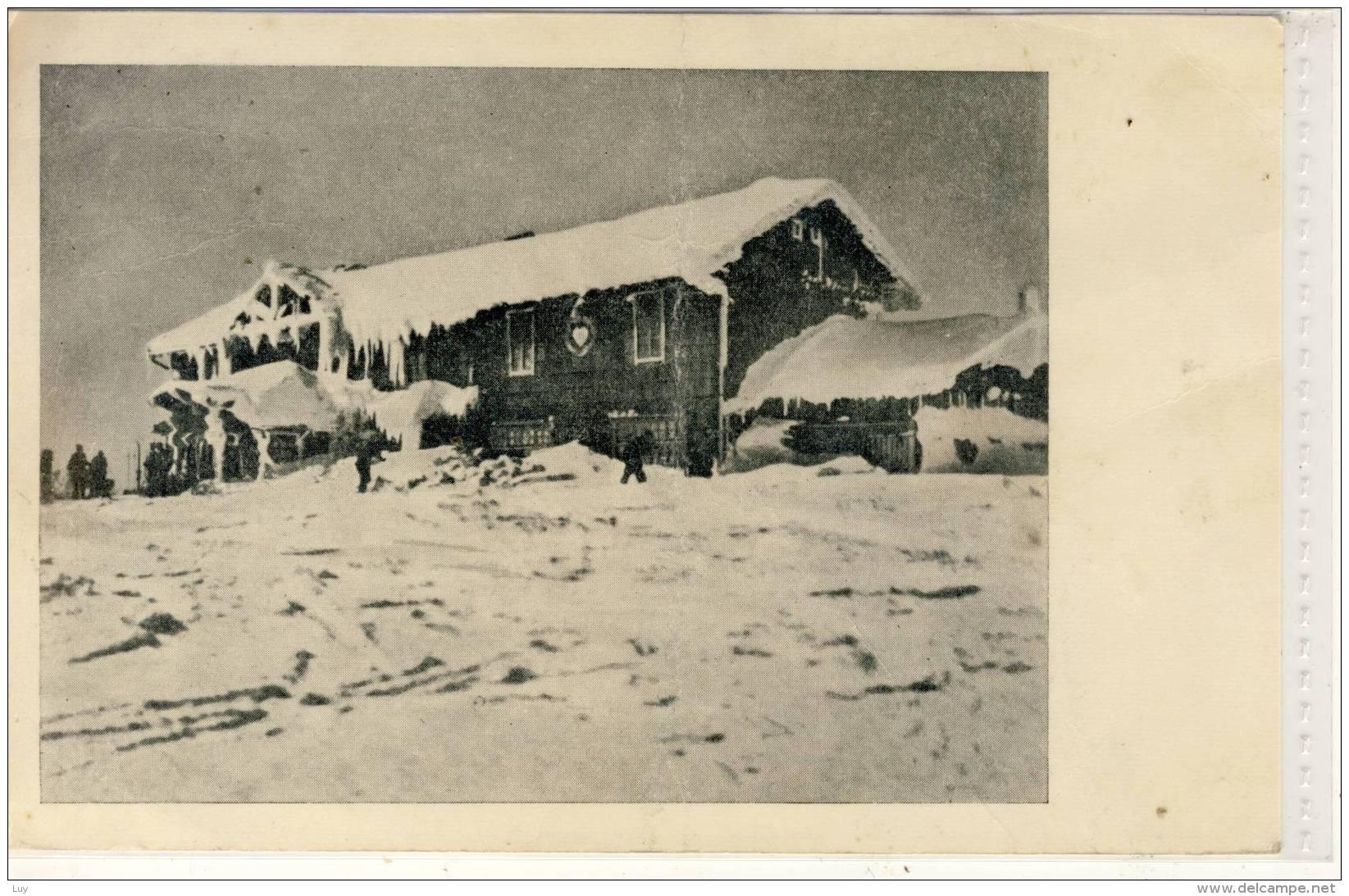BESKIDEN - Schlesierhaus A.d. Kahlenber, Riesengebirge, Gel. 1944 - Sudeten