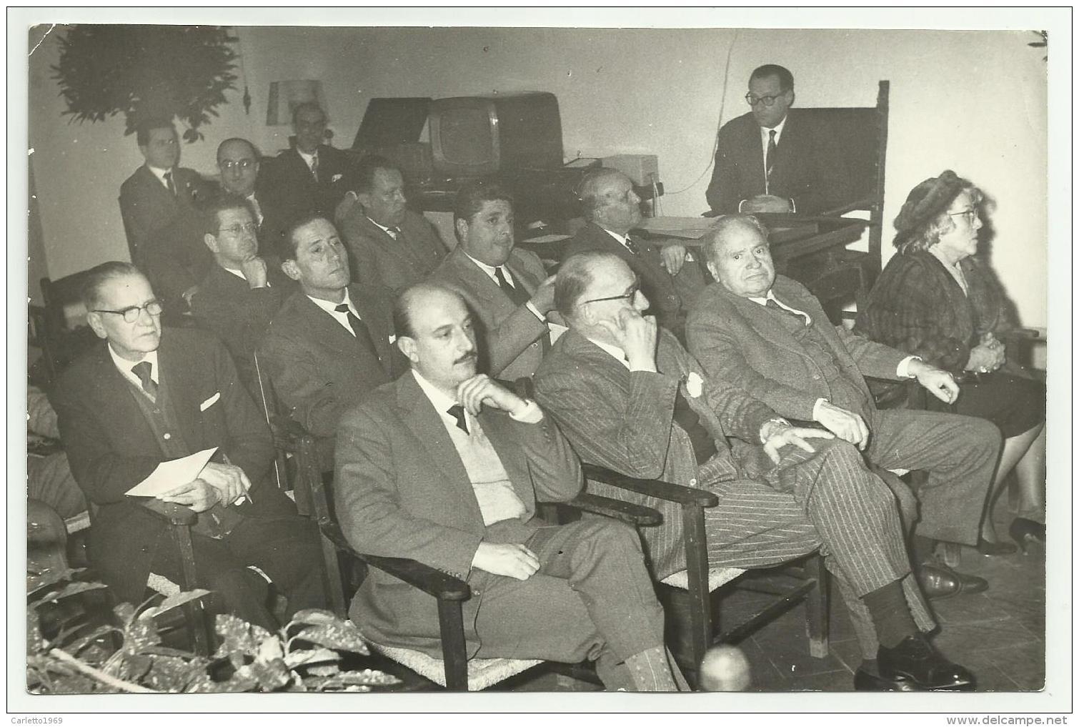 FOTO ORIGINALE SANREMO GIURIA DI FIRENZE ANNO 1959  MISURE CM. 18X12 - Anonymous Persons