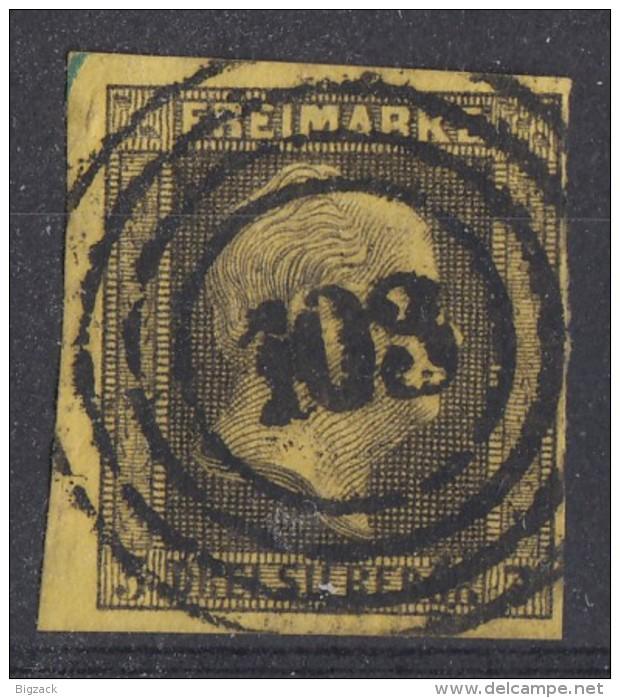 Preussen Minr.4 Gestempelt Nr.-St.103 Berlin - Preussen