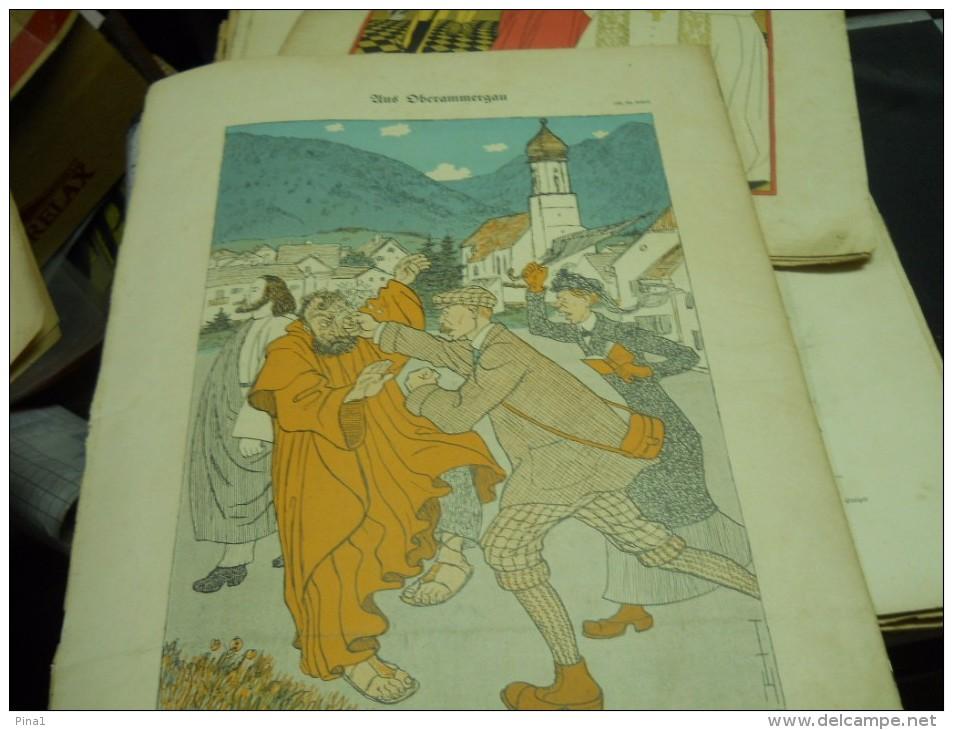 6 JUNI    -  SIMPICISSIMUS  -1910 - Riviste & Giornali