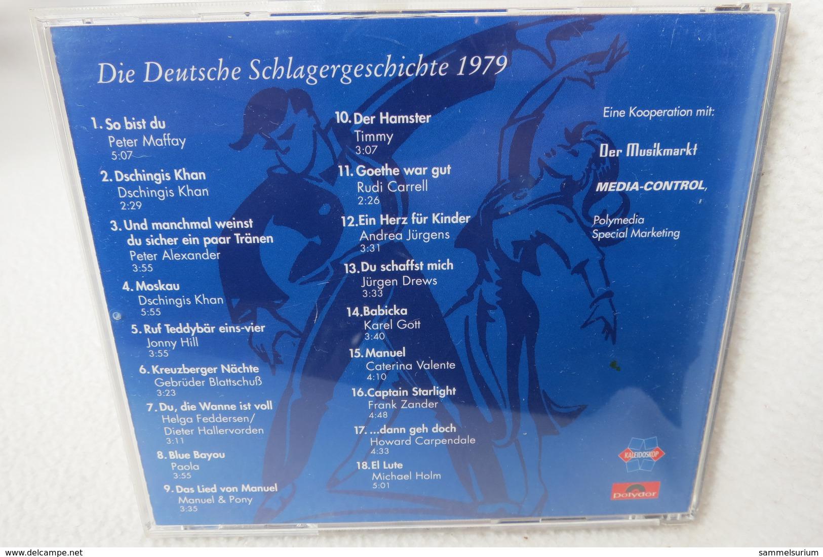"""CD """"Die Deutsche Schlagergeschichte 1979"""" Authentische Tondokumentation Erfolgreicher Dtsch. Titel Im Original 1959-1989 - Sonstige - Deutsche Musik"""