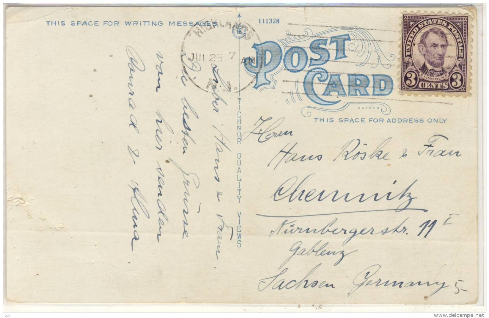 HIGHLANDS VILLAGE From Shrewsbury River, N. J. , Used - United States