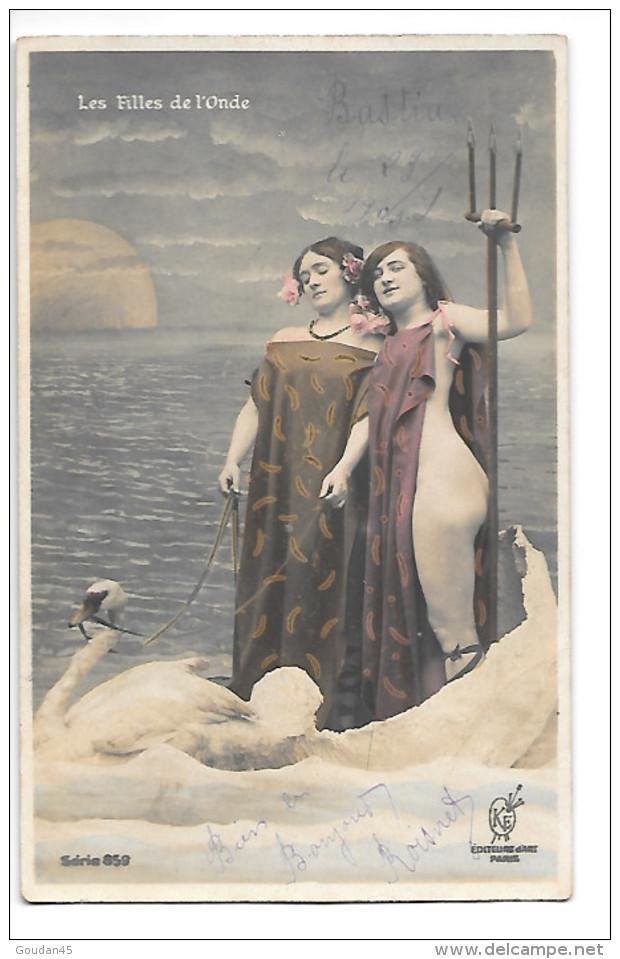 Les Filles De L´Onde   Série 859 - Femmes