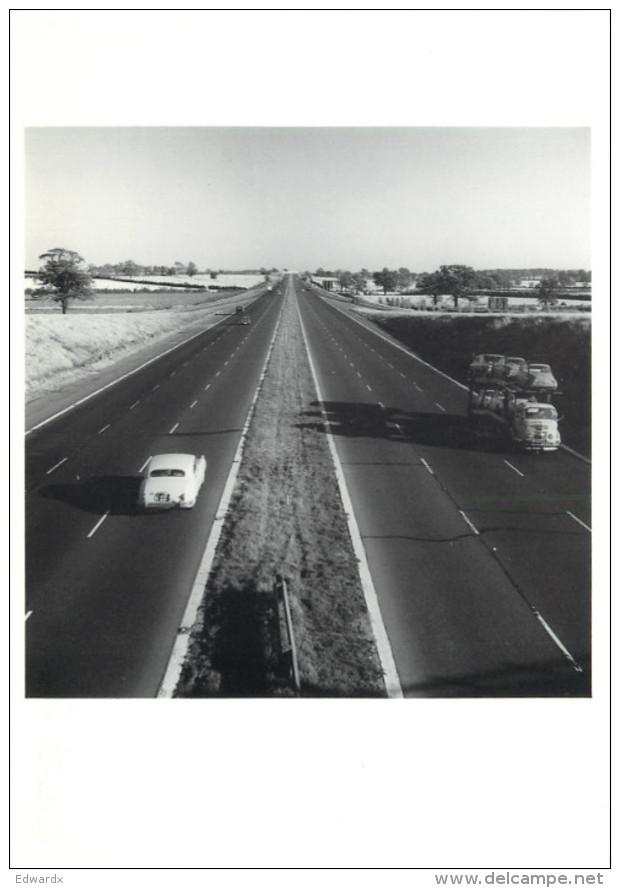 George Rodger, M1 Motorway, Photograph Postcard Unposted - Fotografía