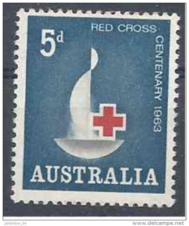 1963 AUSTRALIE 287**  Croix-rouge - Mint Stamps